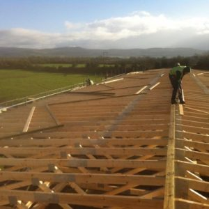 Wild Atlantic Way Construction roofing cork
