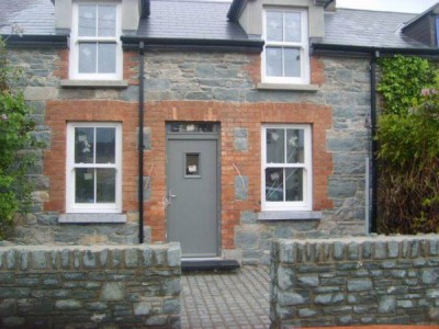 stonework front of house Killarney Masonry