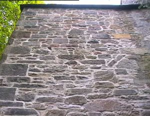 Lime Mortar Render Finished Wall