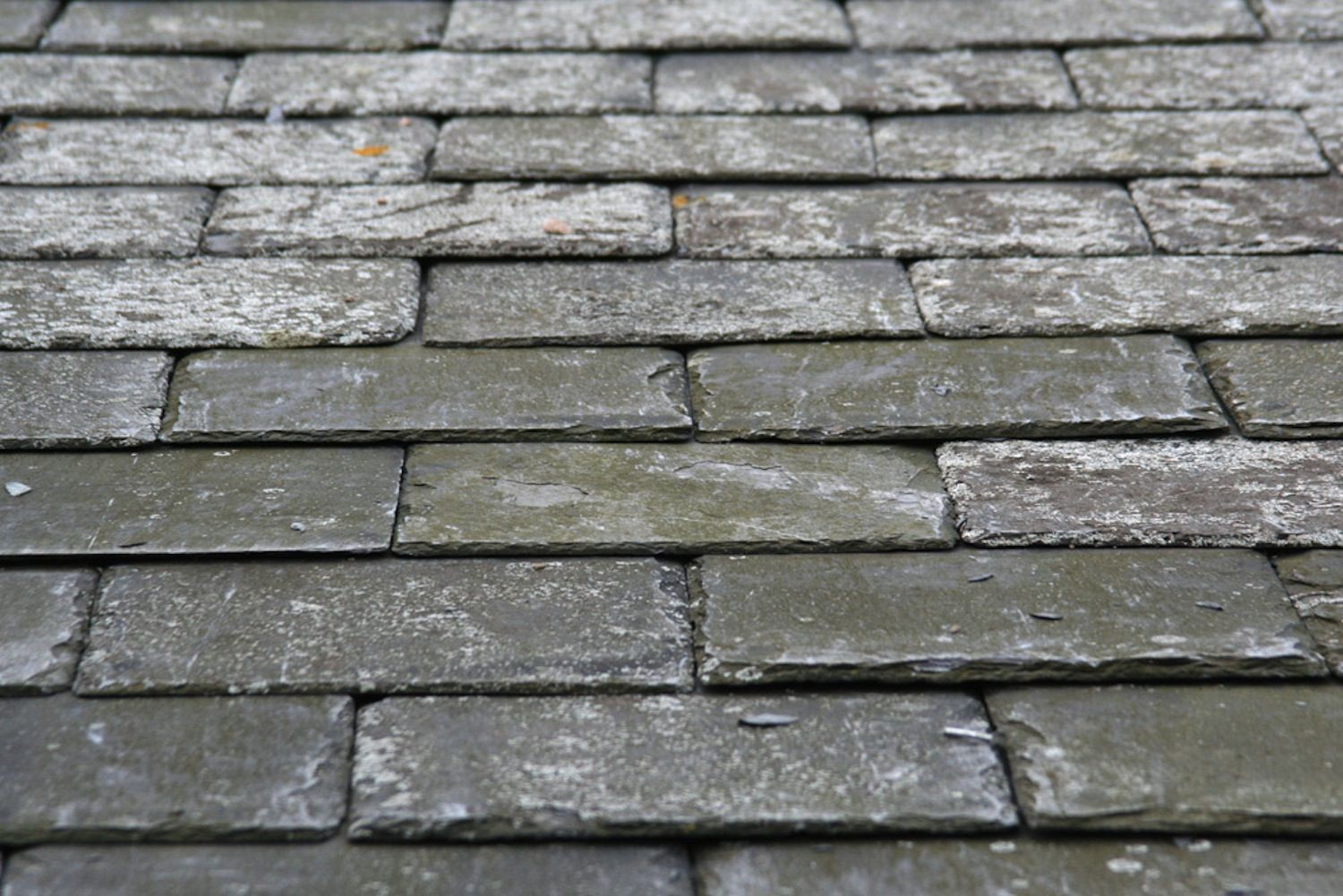 Natural Reclaimed Slates repaired