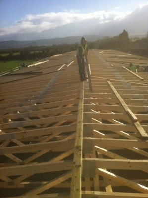Cork Roofing Construction