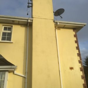 Faha Court Chimney relined and re-plastered