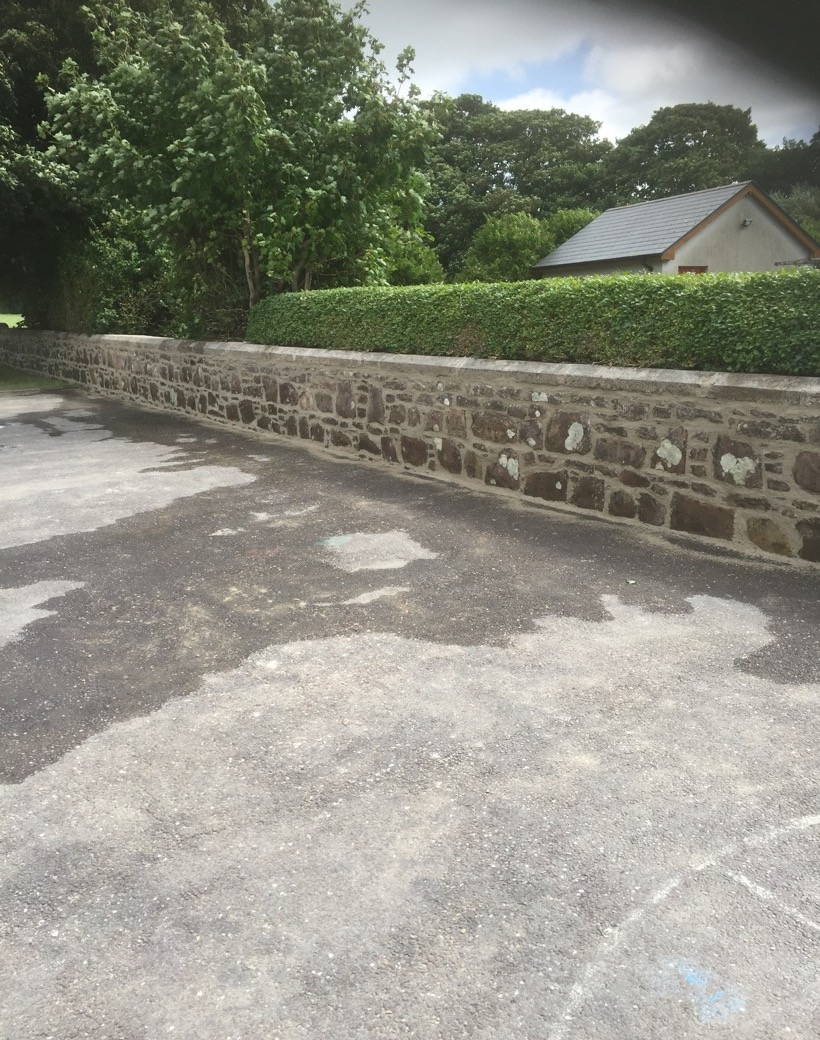 Lime Mortar Pointed Wall Restoration