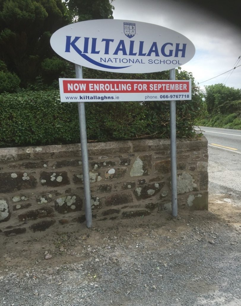 Kiltallagh National School Walls