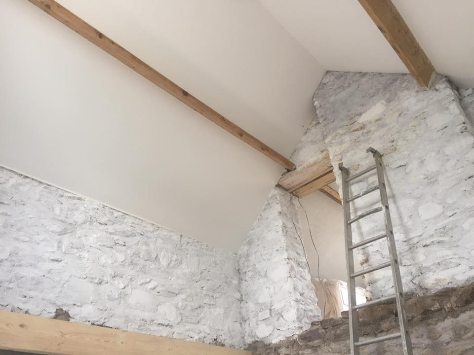 Lime mortar repointing,new limecrete floors and lime whitewash Kerry Cork Limerick